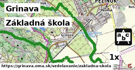 základná škola v Grinava
