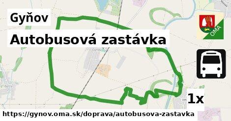 ilustračný obrázok k Autobusová zastávka, Gyňov