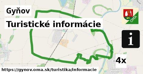 ilustračný obrázok k Turistické informácie, Gyňov