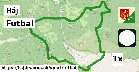 ilustračný obrázok k Futbal, Háj, okres KS