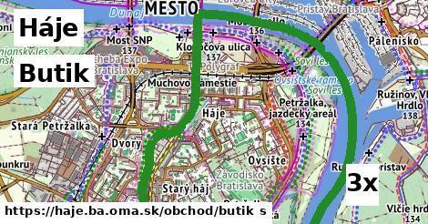 ilustračný obrázok k Butik, Háje