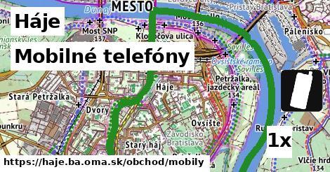 mobilné telefóny v Háje