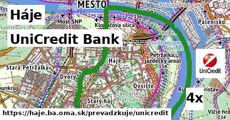 UniCredit Bank v Háje