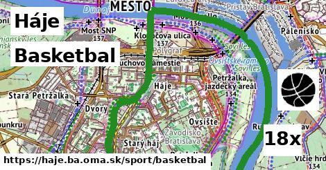basketbal v Háje
