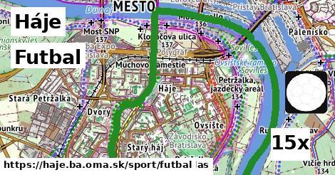 futbal v Háje