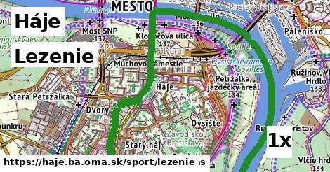 ilustračný obrázok k Lezenie, Háje