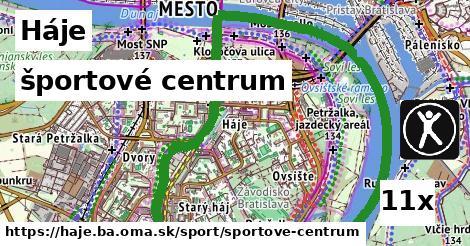 športové centrum v Háje