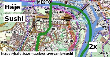 ilustračný obrázok k Sushi, Háje