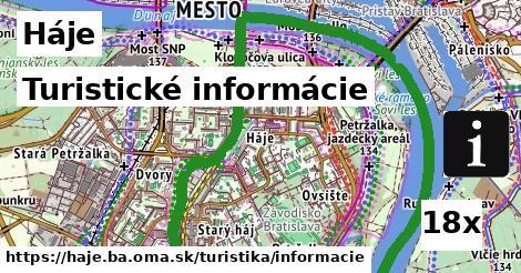 turistické informácie v Háje