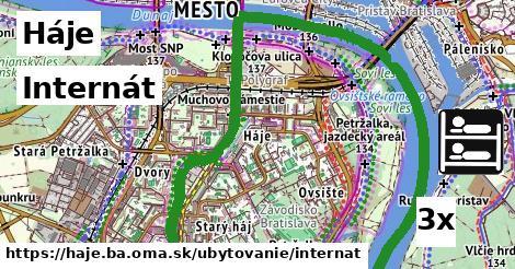ilustračný obrázok k Internát, Háje