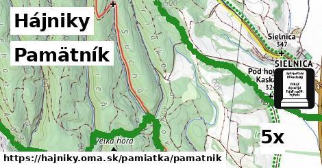 ilustračný obrázok k Pamätník, Hájniky