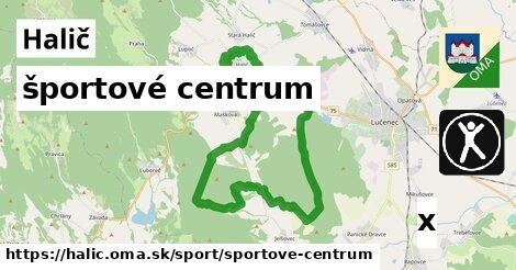 športové centrum v Halič