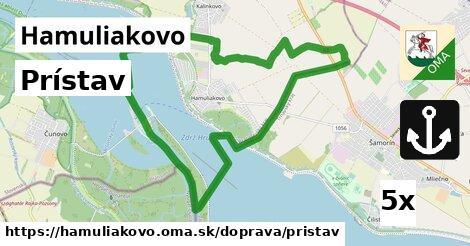 prístav v Hamuliakovo