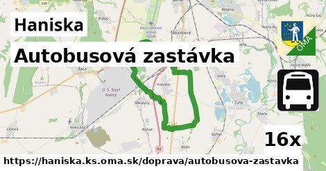 ilustračný obrázok k Autobusová zastávka, Haniska, okres KS
