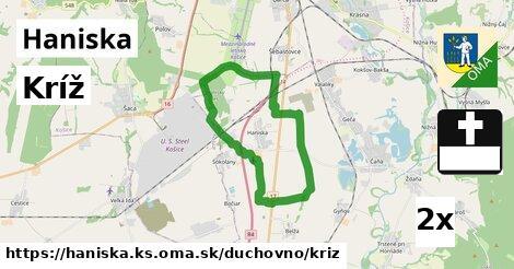 ilustračný obrázok k Kríž, Haniska, okres KS