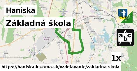 ilustračný obrázok k Základná škola, Haniska, okres KS