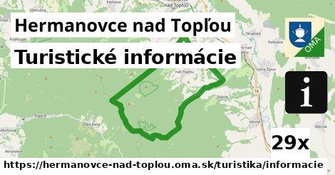 turistické informácie v Hermanovce nad Topľou