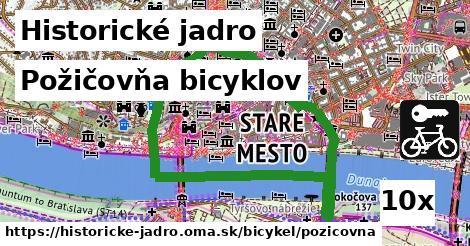 ilustračný obrázok k Požičovňa bicyklov, Historické jadro