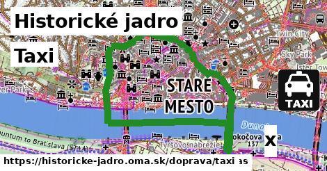 ilustračný obrázok k Taxi, Historické jadro