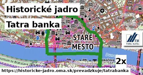 ilustračný obrázok k Tatra banka, Historické jadro