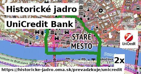 ilustračný obrázok k UniCredit Bank, Historické jadro