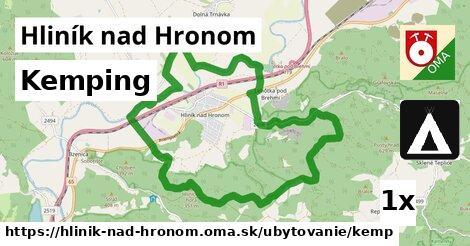 kemping v Hliník nad Hronom