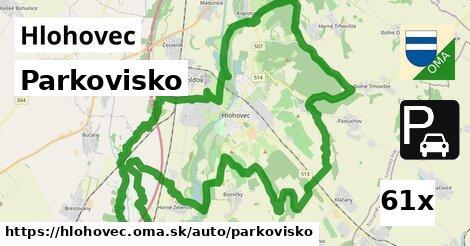 parkovisko v Hlohovec