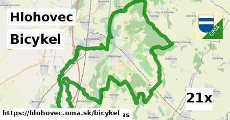 bicykel v Hlohovec
