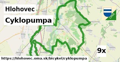 cyklopumpa v Hlohovec