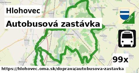 Autobusová zastávka, Hlohovec