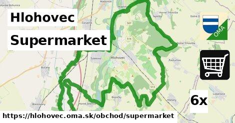 ilustračný obrázok k Supermarket, Hlohovec