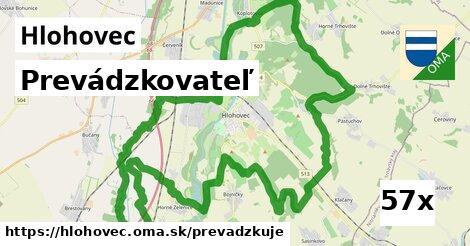 prevádzkovateľ v Hlohovec