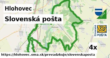 Slovenská pošta v Hlohovec