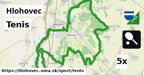 Tenis, Hlohovec
