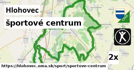 ilustračný obrázok k športové centrum, Hlohovec
