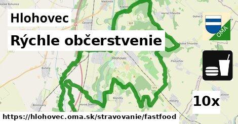 rýchle občerstvenie v Hlohovec