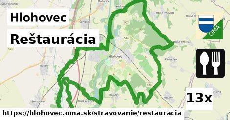 reštaurácia v Hlohovec