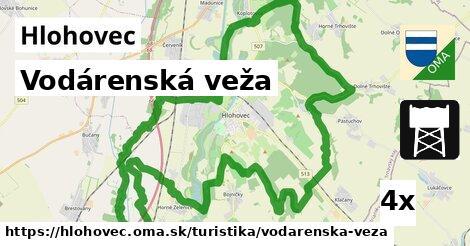 vodárenská veža v Hlohovec