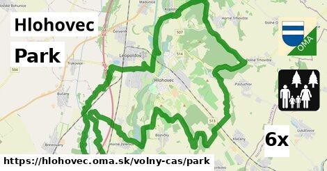 ilustračný obrázok k Park, Hlohovec