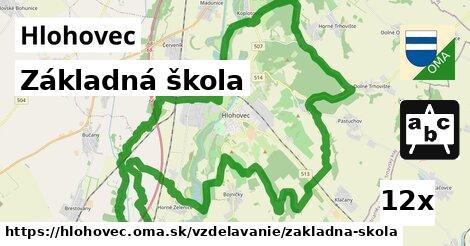 základná škola v Hlohovec