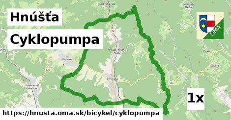 cyklopumpa v Hnúšťa