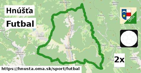 ilustračný obrázok k Futbal, Hnúšťa