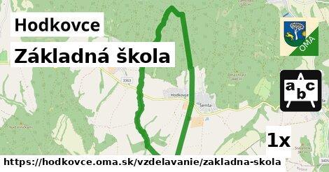 ilustračný obrázok k Základná škola, Hodkovce