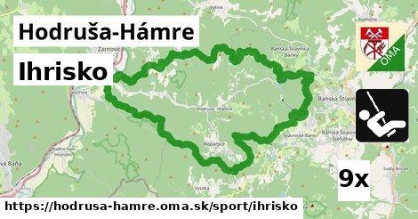 ihrisko v Hodruša-Hámre