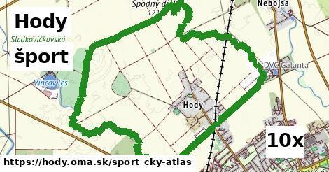 šport v Hody