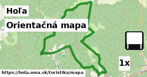 orientačná mapa v Hoľa