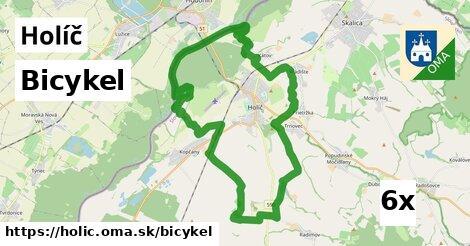 bicykel v Holíč