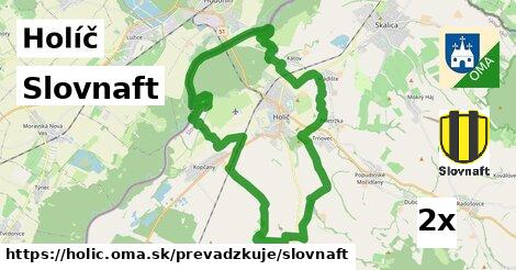 ilustračný obrázok k Slovnaft, Holíč
