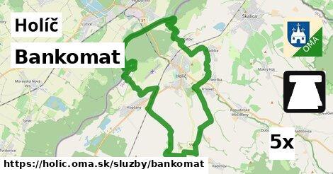 ilustračný obrázok k Bankomat, Holíč
