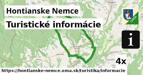 turistické informácie v Hontianske Nemce